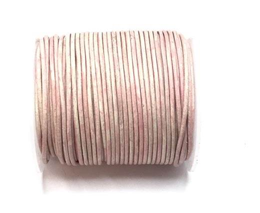 Buy Leather Cord Round Leather 2mm  Vintage  at wholesale prices
