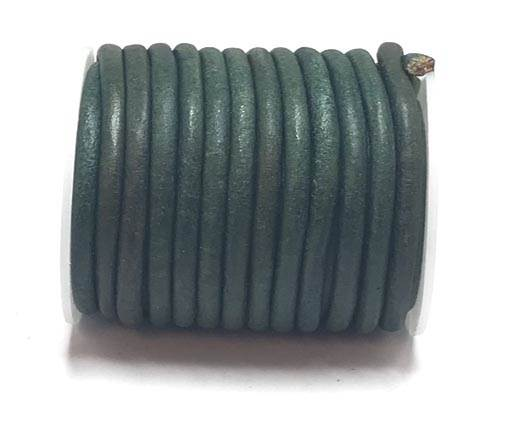 Buy Leather Cord Round Leather 6mm Vintage  at wholesale prices