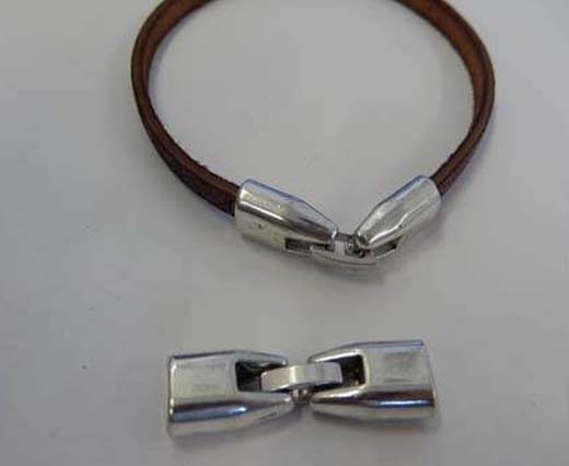 Buy Zamak / Brass Magnetic Clasps Flat Leather - 5mm, 6mm   at wholesale prices
