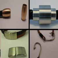 Fermoirs magnétiques en acier inoxydable - Matt