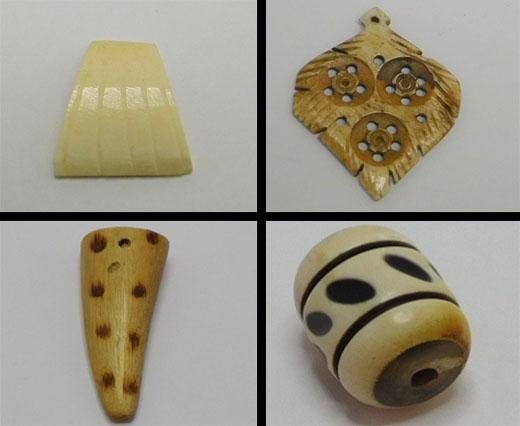 Cuentas de hueso (material)