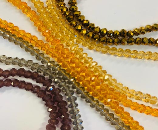 Buy Beads Faceted Glass Beads  at wholesale prices