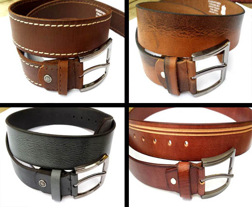 Buy Abalorios con diferentes formas Bolsos de Cuero y Accesorios Leather belts   at wholesale prices