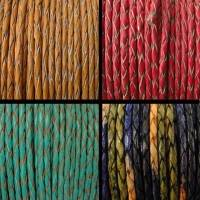Buy Braided Leather Cords at wholesale prices