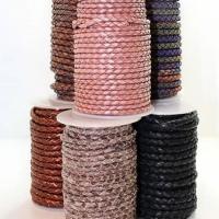Buy Lederbänder Geflochten Rund at wholesale prices