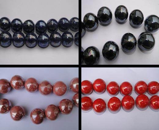 Buy Beads Ceramic Beads Round - 25mm  at wholesale prices
