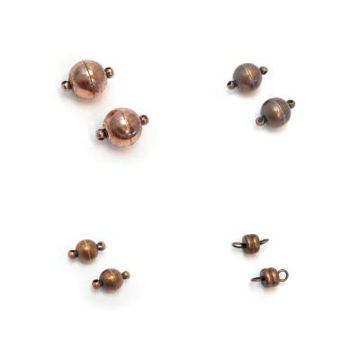 Buy Fermoirs  Fermoirs magnétiques Fermoirs aimantés en zamac Fermoirs pour colliers en zamac Copper  at wholesale prices