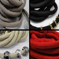 Buy Silk Cords and Ribbons Pure Silk cords with cotton filling - 8mm at wholesale prices