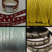 Bead String material and PU cords