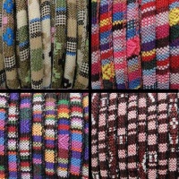 Buy Cordoncino in eco pelle Cordoncini di cotone nappa multicolore stile 6mm  at wholesale prices