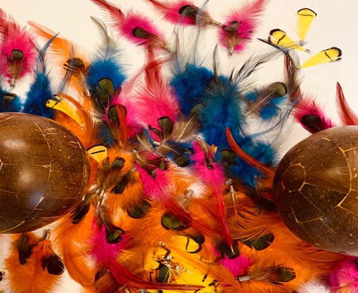 Buy Jewelry Making Supplies Fur and Feathers for Jewelry and Hats Feathers with Hooks  at wholesale prices