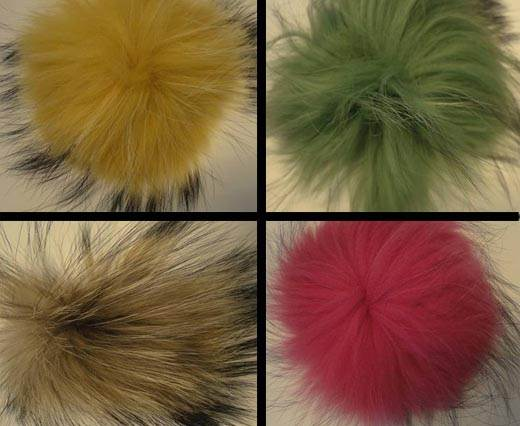 Buy Jewelry Making Supplies Fur and Feathers for Jewelry and Hats Fin Raccon - 14cm  at wholesale prices