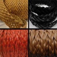Buy Lederbänder Geflochten Flat at wholesale prices