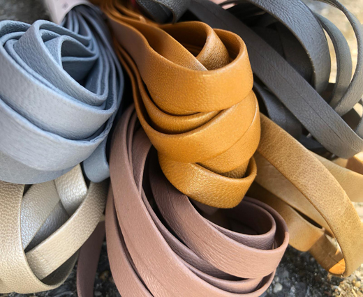 Buy Leather Cord Nappa Leather Flat Nappa Leather  at wholesale prices