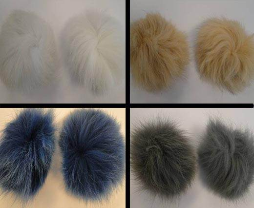 Buy Autres Fourrures et plumes Fourrure de renard - 10cm  at wholesale prices