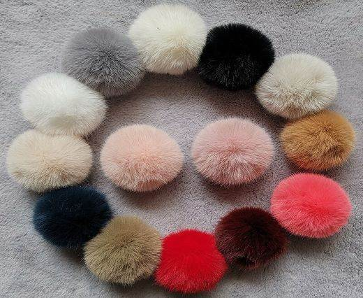 Buy Jewelry Making Supplies Fur and Feathers for Jewelry and Hats Fox Fur - 10cm  at wholesale prices