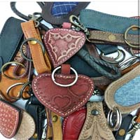 Buy Lederbänder Leather Accessories  Leather Key Chains  at wholesale prices