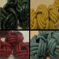 Leather Beads