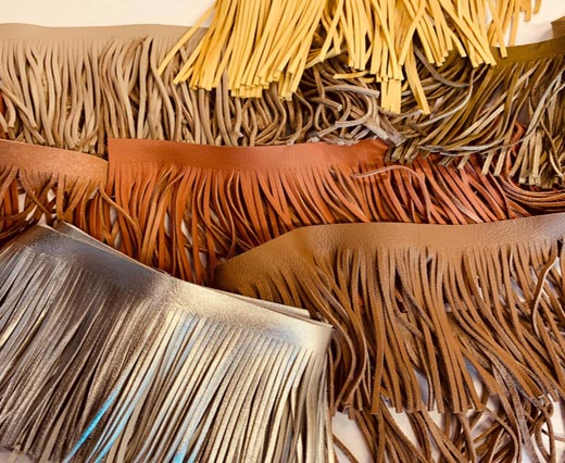 Buy Leather Cord Leather Fringe at wholesale prices - Sun Enterprises