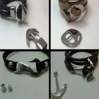 Buy Clasps Stainless Steel Magnetic Clasps Hooked and Arrow Style Clasps  at wholesale prices
