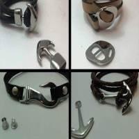 Buy Chiusure per Gioielli Chiusure Magnetiche Chiusure magnetiche in acciaio inox Chiusure in acciaio inossidabile stile uncino e ancora - Finitura metallizzata   at wholesale prices