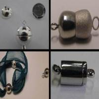Buy Clasps Stainless Steel Magnetic Clasps Magnetic Necklace Clasp  at wholesale prices