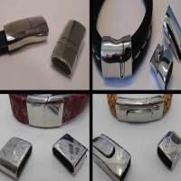 Buy Chiusure per Gioielli Chiusure Magnetiche Chiusure magnetiche in acciaio inox Chiusure per pelle Regaliz e pelle di forma ovale  at wholesale prices