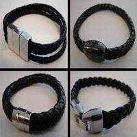 Buy Cordons en Cuir Bracelet en cuir Fini Collections de bijoux Bracelets - Sans acier  at wholesale prices