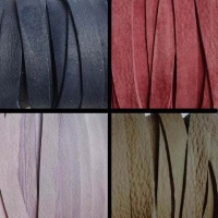 Buy Leather Cord Flat Leather Soft Leather Cord 3mm  at wholesale prices
