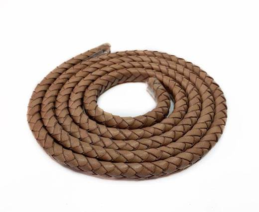 Buy Leather Cord Braided Leather Oval 10mm  at wholesale prices