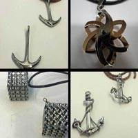 Buy Acero inoxidable Pendants and Charms Piezas para colgantes - Grandes tamaños  at wholesale prices
