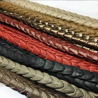 Buy Leather Cord Nappa Leather Punch Style Nappa Leather   at wholesale prices