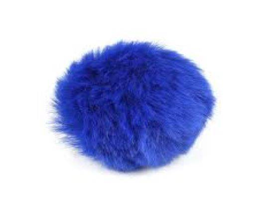 Buy Jewelry Making Supplies Fur and Feathers for Jewelry and Hats Rabbit Fur - 10cm  at wholesale prices
