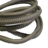 Buy Lederbänder Rund gesäumt Mit Nieten – 6mm  at wholesale prices