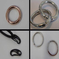 Rings for Key Cords and Jewellery