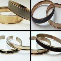 Buy Stainless Steel Cuffs - Bangles and Rings Steel Frames in Rose Gold   at wholesale prices