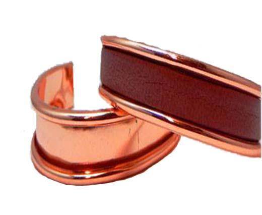 Buy Componenti per gioielli in Zamak e Rame Braccialetti di metallo in ottone e rame Bracciali di metallo color oro rosa  at wholesale prices