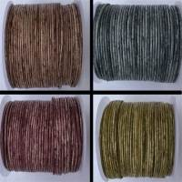 Buy Leather Cord Round Leather Cord 1mm Vintage  at wholesale prices