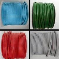 Round Leather Cords- 4mm - Regular Colours