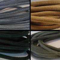 Buy Leather Cord Suede Cord Round Suede  6mm   at wholesale prices