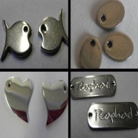 Buy Steel Logo Tags for Engraving  at wholesale prices