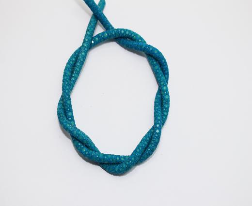 Echte Nappalederbänder im Stachelrochen-Stil