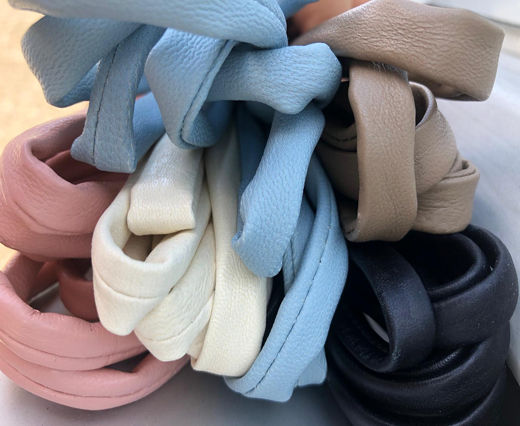 Buy Leather Cord Nappa Leather Tubular Nappa Leather   at wholesale prices