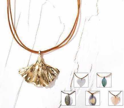 Lederbänder für Halsketten