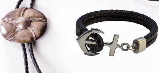 Bolo leather cord for bolo tie and bolo leather jewelry
