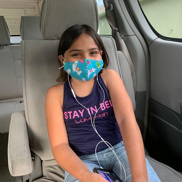 Waschbare Baumwollmasken und chirurgische N99 Masken