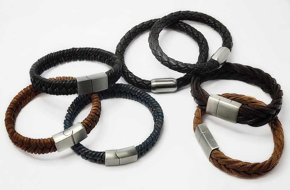 Idées de bracelets en cuir pour hommes