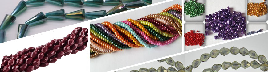 Buy Beads Faceted Glass Beads Faceted Glass Cubes - 6mm  at wholesale prices