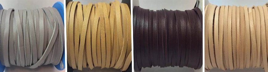 Buy Leather Cord Nappa Leather Double Cut  at wholesale prices