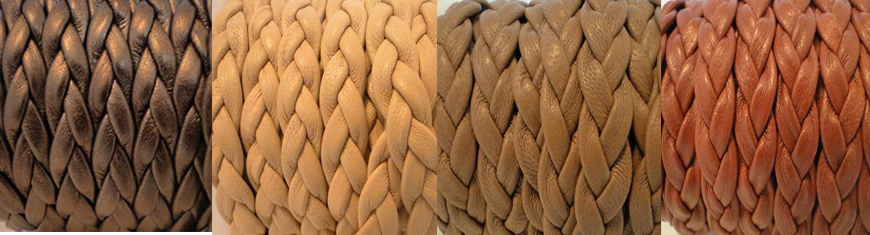 Buy Leather Cord Nappa Leather Flat Nappa Leather Flat Woven Nappa Leather  at wholesale prices